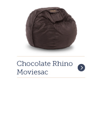Moviesac with Chocolate Rhinoplush Cover