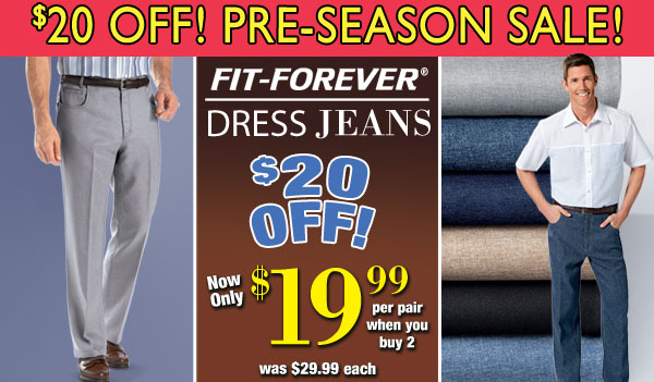 Fit-Forever Jeans