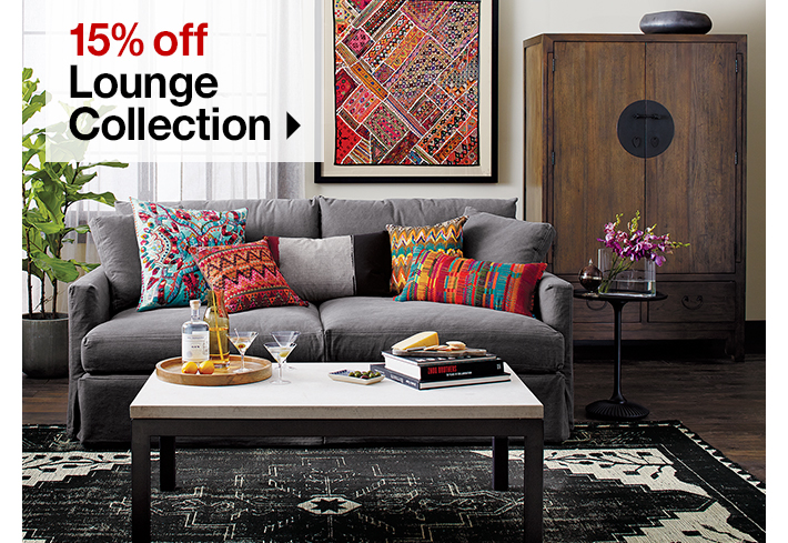15% off Lounge  Collection