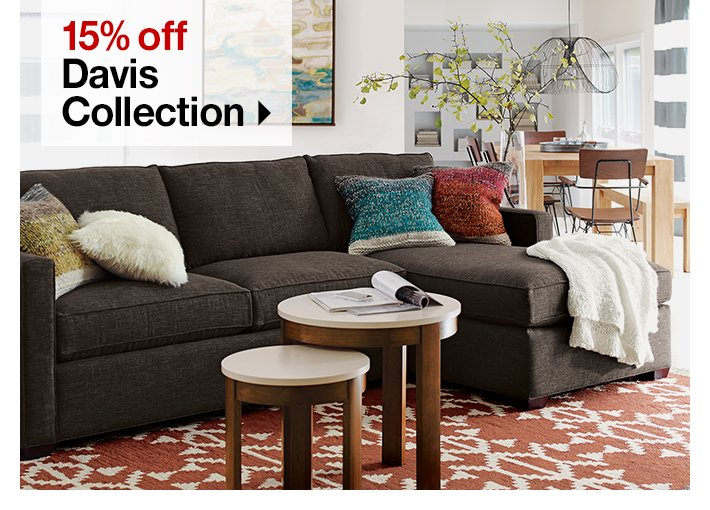 15% off Davis  Collection