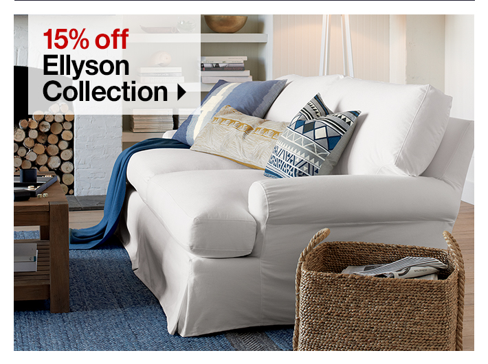 15% off Ellyson  Collection