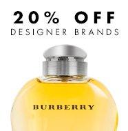 Shop our 20% off designer fragrance collection