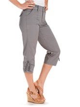 Easy Fit West Roll-Up Capri
