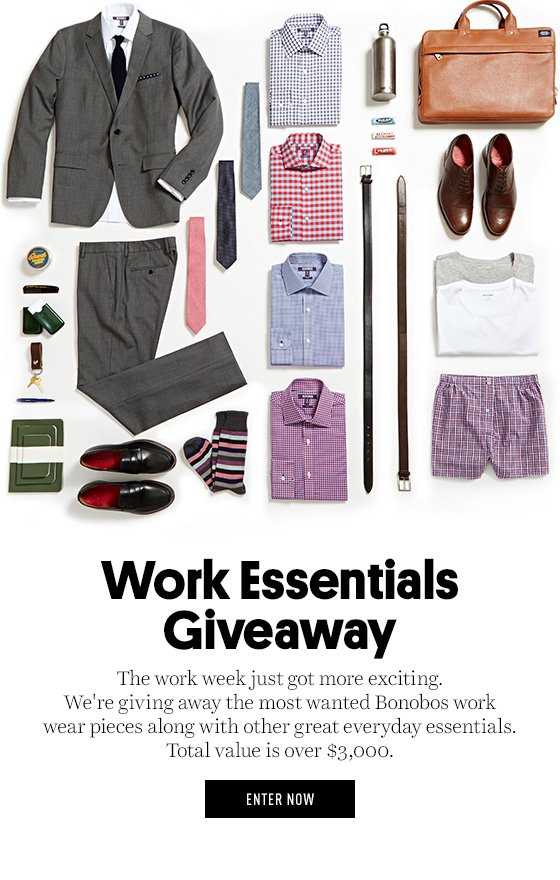 Work Essentials Giveaway