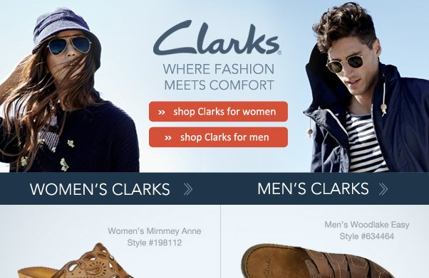 Get Comfy With Clarks!