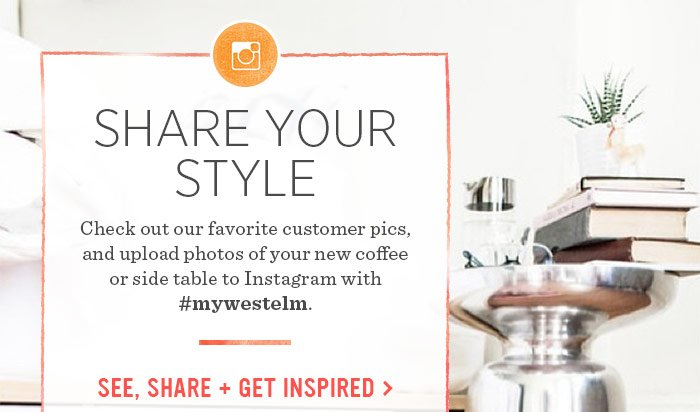 Share Your Style. See, share + get inspired