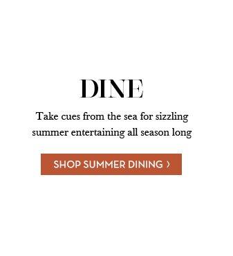 SHOP SUMMER DINING