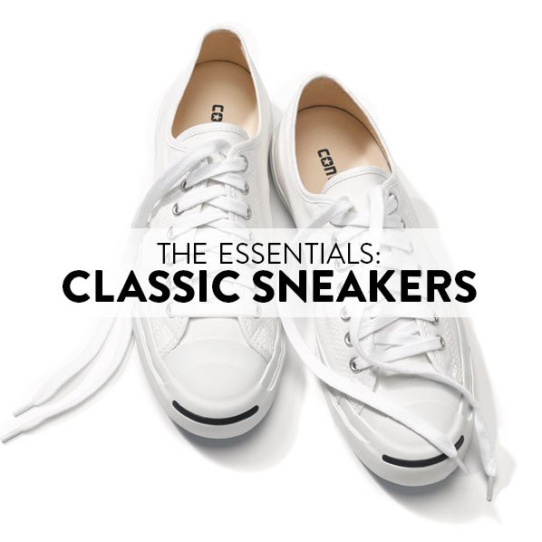 THE ESSENTIALS: CLASSIC SNEAKERS