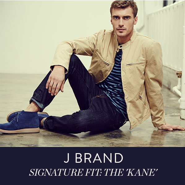 J BRAND - SIGNATURE FIT: THE 'KANE'