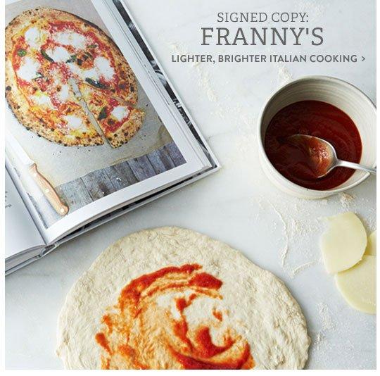 Franny's Cookbook
