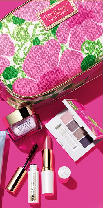 ESTÉE LAUDER             	XX LILLY PULITZER              	Our Best Sellers              	Choose Your Gift              	Now at Macy's, your Free Gift with any $35.00 Estée Lauder purchase.†              	Worth up to $120.00              	Find a Macy's Near You »              	Our #1 Repair Serum              	Choose Your Deluxe Gift Size Moisturizer              	Choose Your Shades