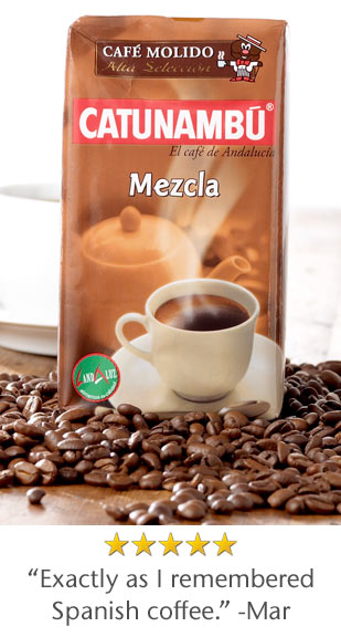 5 Star Rated - Exactly as I remembered Spanish coffee. -Mar