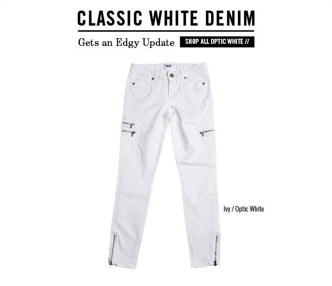 Classic White Denim