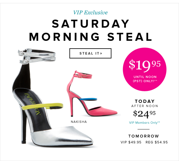 Saturday Morning Steal - - Steal It: