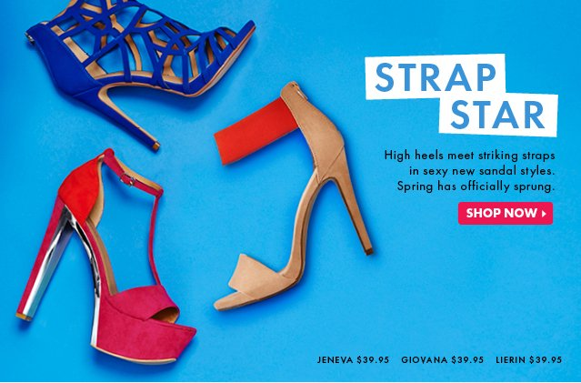Strap Star - Spring Has Officially Sprung - Shop Now!