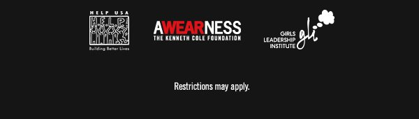 AWEARNESS THE KENNETH COLE FOUNDATION