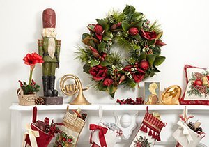 Stock Up: Holiday Décor Up to 70% Off
