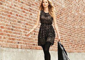 Ladylike Edge: Leather & Lace