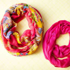 Spring Layering: Infinity Scarves