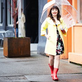 Spring Showers: Apparel & Rain Boots