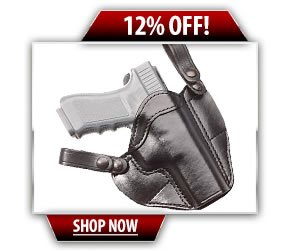 Gould and Goodrich Leather Convertible Holster
