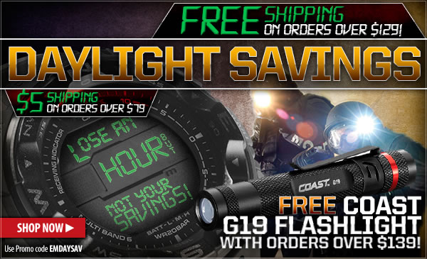 Daylight Savings Sale