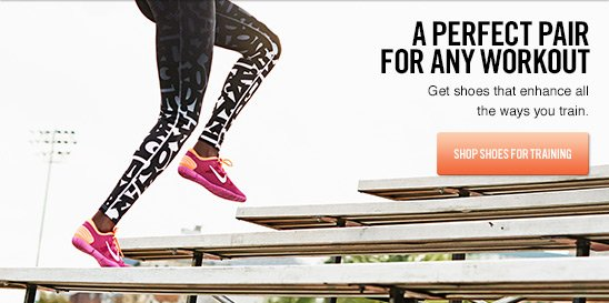 A PERFECT PAIR FOR ANY WORKOUT | SHOP SHOES FOR TRAINING
