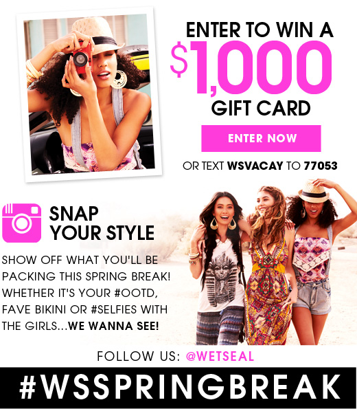 Enter to Win a $1,000 Gift Card