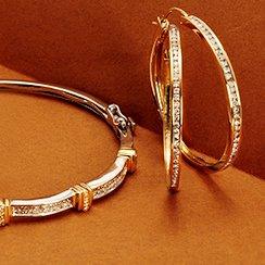 Gold Jewelry Deals: Earrings & Bracelets