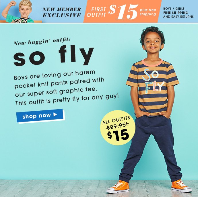 So Fly Outfit Just $15.