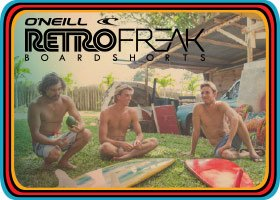 Shop Retrofreak Boardshorts!