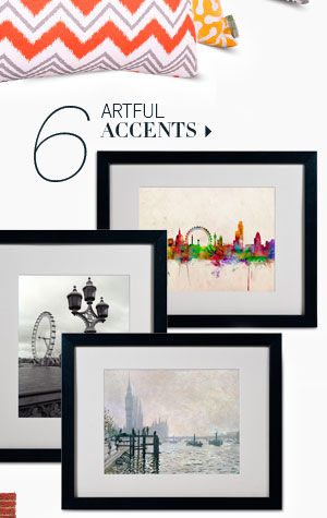 6. Artful Accents
