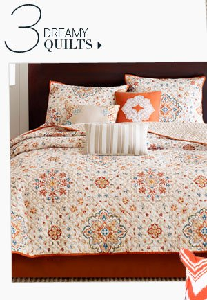 3. Dreamy Quilts