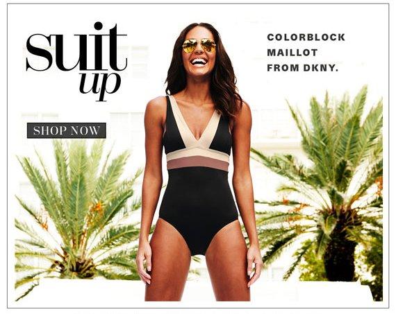 Suit Up. Shop Now.