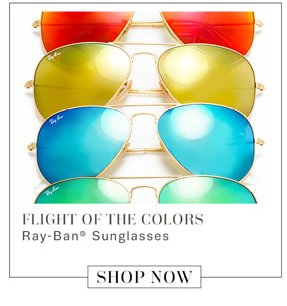 Flight of the Colors. Ray-Ban Sunglasses. Shop Now.
