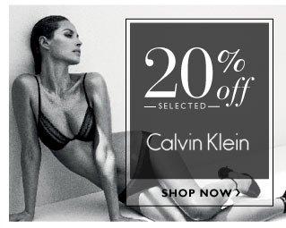 20% off Calvin Klein