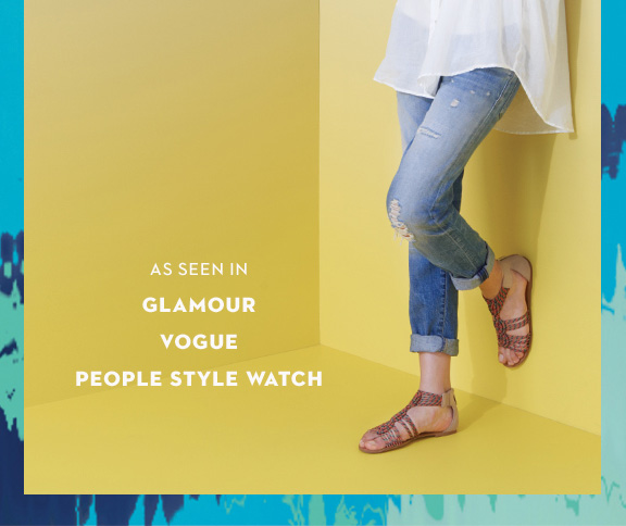 As seen in Glamour Vogue People Style Watch