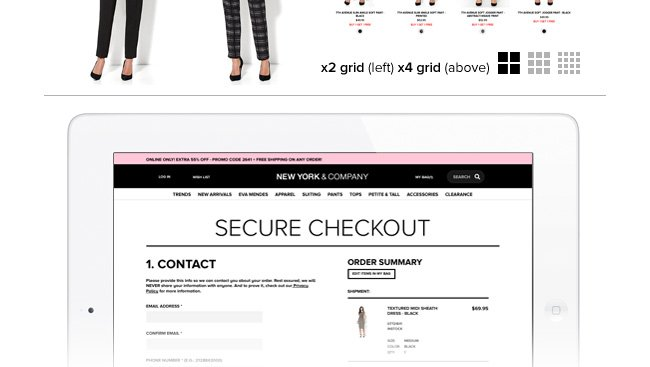 Simplified Checkout Process.