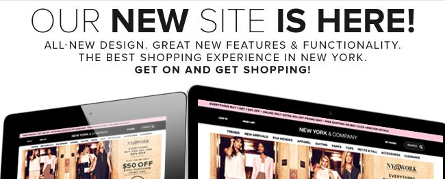 Our New Site is Here.  Shop Now!