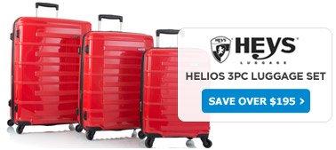 Heys Helios 3pc Luggage Set