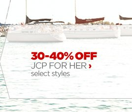 30 – 40% OFF JCP FOR HER ›  select styles