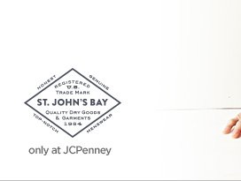 ST. JOHN'S BAY only at JCPenney