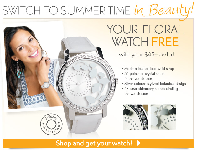 SWITCH TO SUMMER TIME IN BEAUTY!