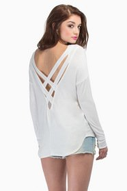 Karli Crossed Back Top $29