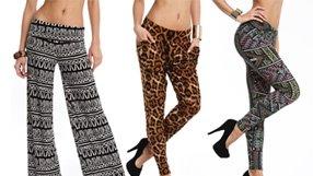 Trend Alert: Printed Pants
