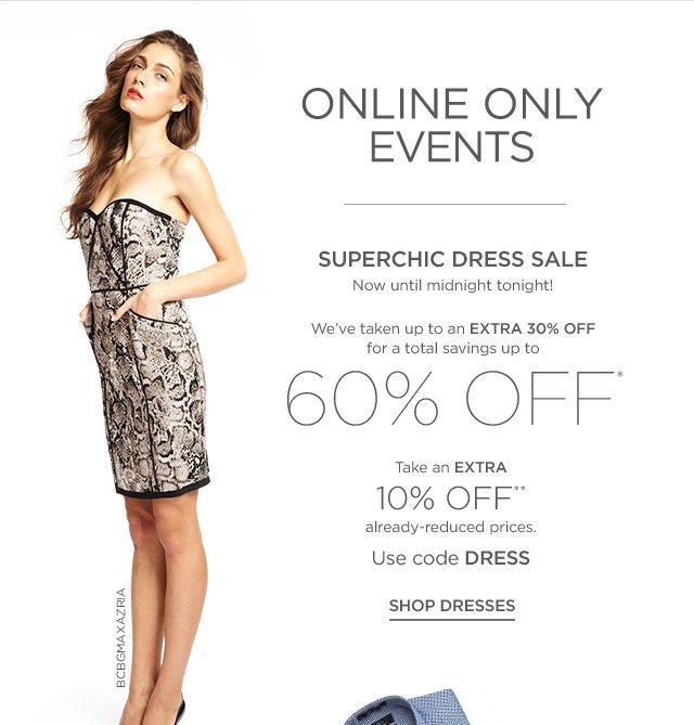 Extra 10% off Dress Sale