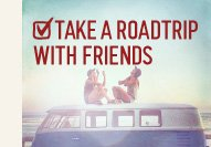 TAKE  A ROADTRIP WITH FRIENDS