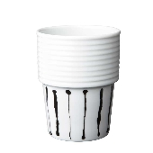 Filippa K Coffee/Tea Mug, Ink Stripe 2 pcs