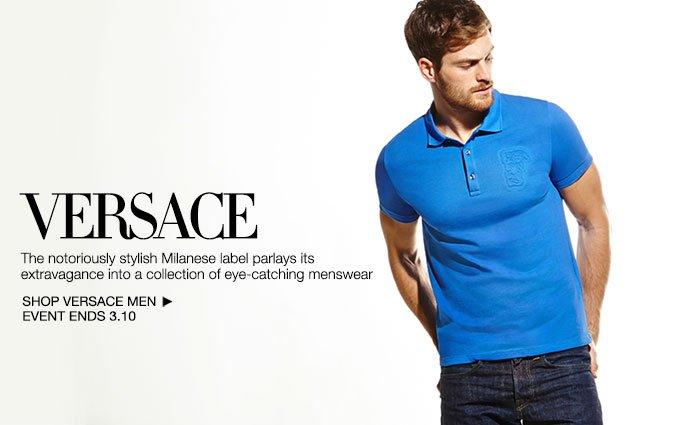 Shop Versace - Men.
