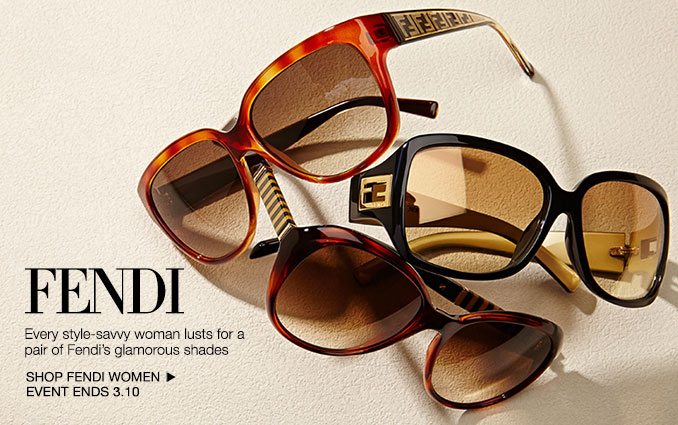 Shop Fendi Sunglasses - Ladies.